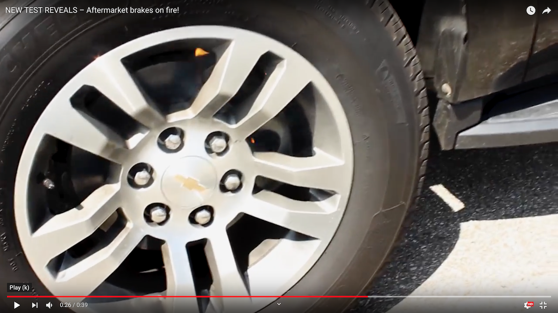 NUCAP Releases Brake Testing Video To Explain Brake Pad Corrosion and Delamination